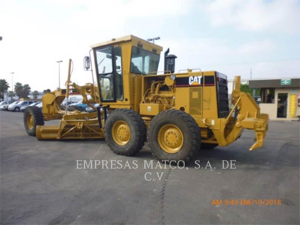 Caterpillar 140H, motorgrader mijnbouw, Bouw