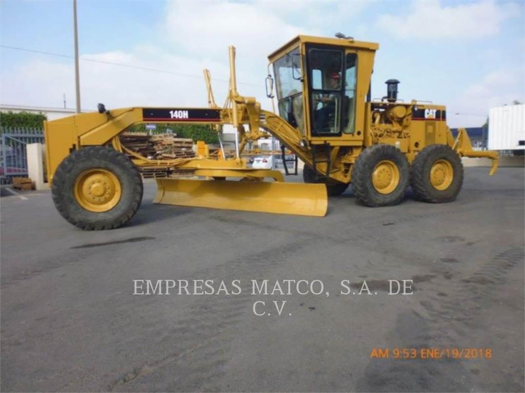 Caterpillar 140H, motorgrader da miniera, Attrezzature Da Costruzione