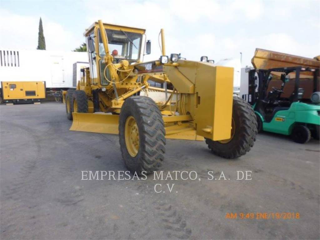 Caterpillar 140H, motor graders, Construction