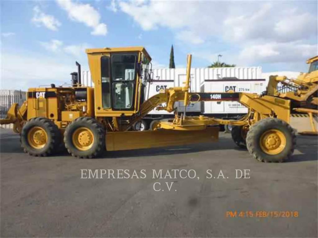 Caterpillar 140H、鉱業用モータ・グレーダ、建設