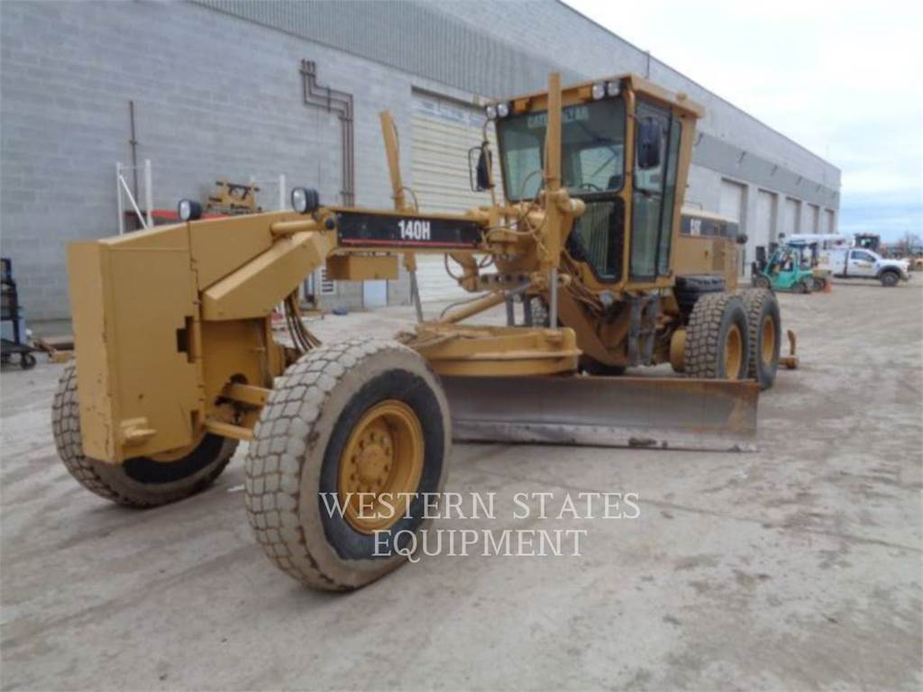 Caterpillar 140H, motoniveladora de mineração, Equipamentos Construção
