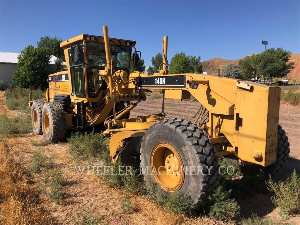 Caterpillar 140H, autogreder minier, Constructii
