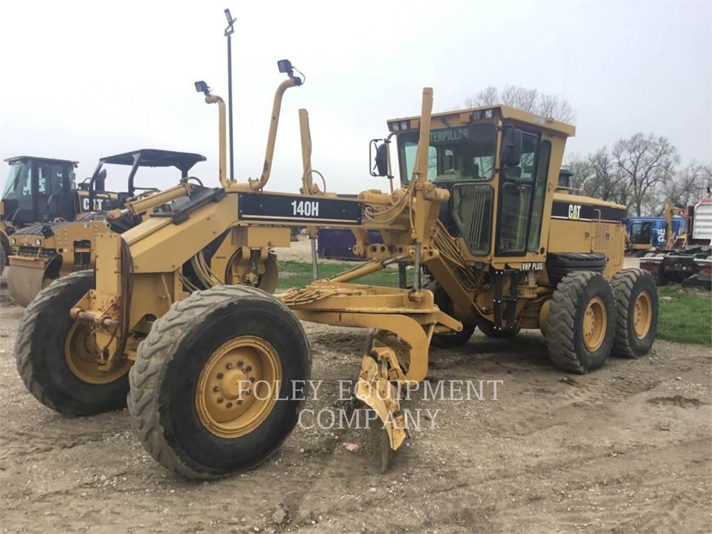 Caterpillar 140H, motor graders, Construction