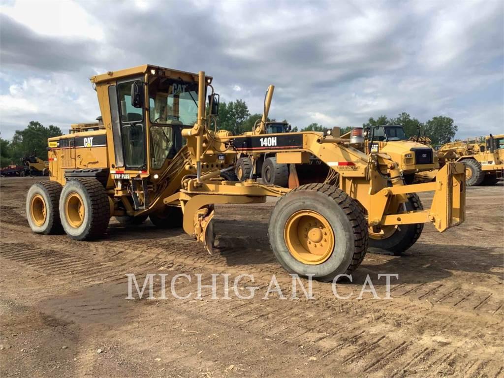 Caterpillar 140H, niveleuses pour mines, Équipement De Construction