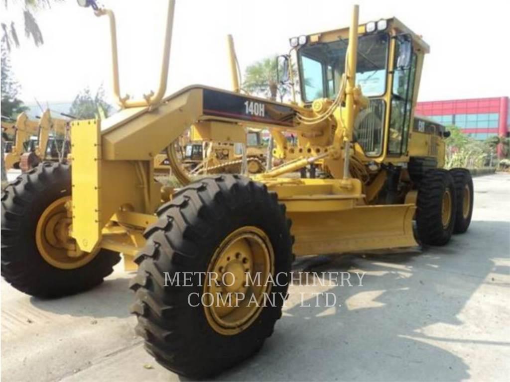 Caterpillar 140HNA, motorgrader da miniera, Attrezzature Da Costruzione