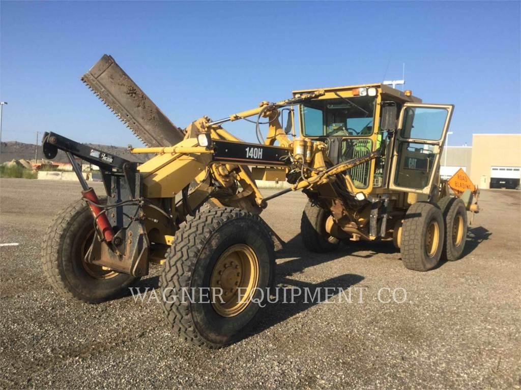 Caterpillar 140HNA, motoniveladoras para minería, Construcción