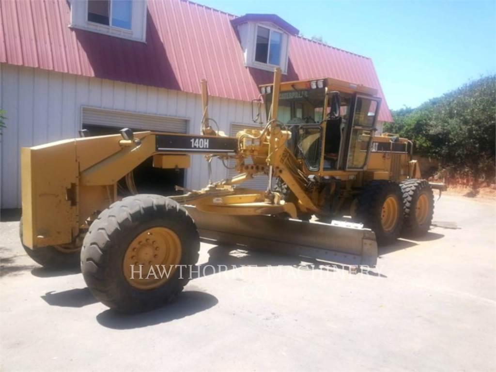 Caterpillar 140HNA, motorgrader mijnbouw, Bouw