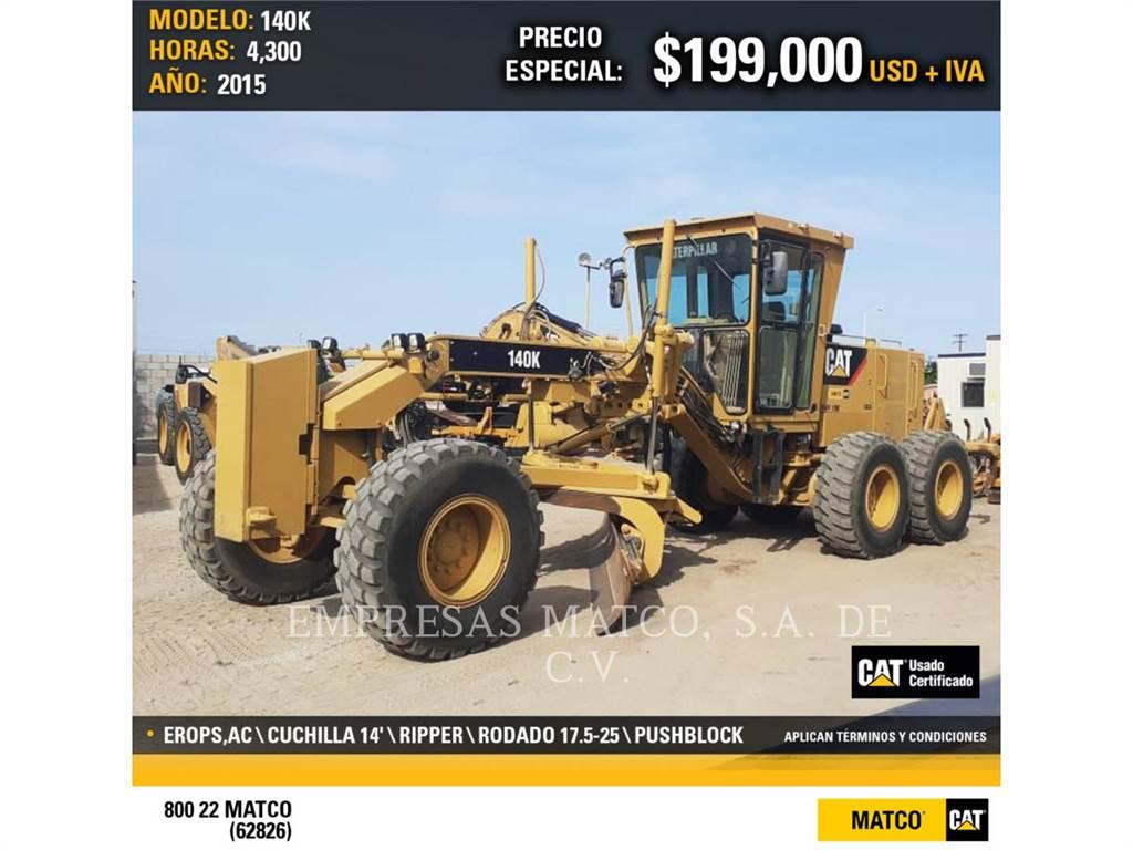 Caterpillar 140K, niveleuses pour mines, Équipement De Construction