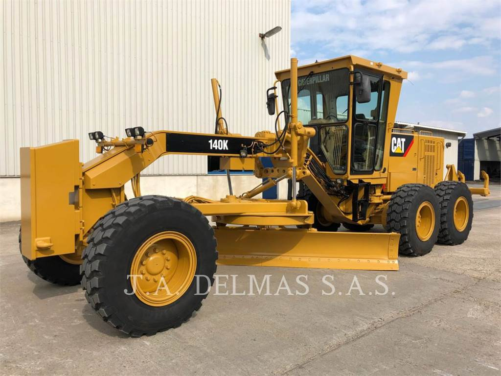Caterpillar 140K, motor graders, Construction