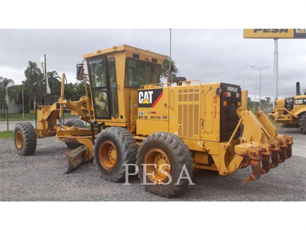 Caterpillar 140K, motoniveladoras para minería, Construcción