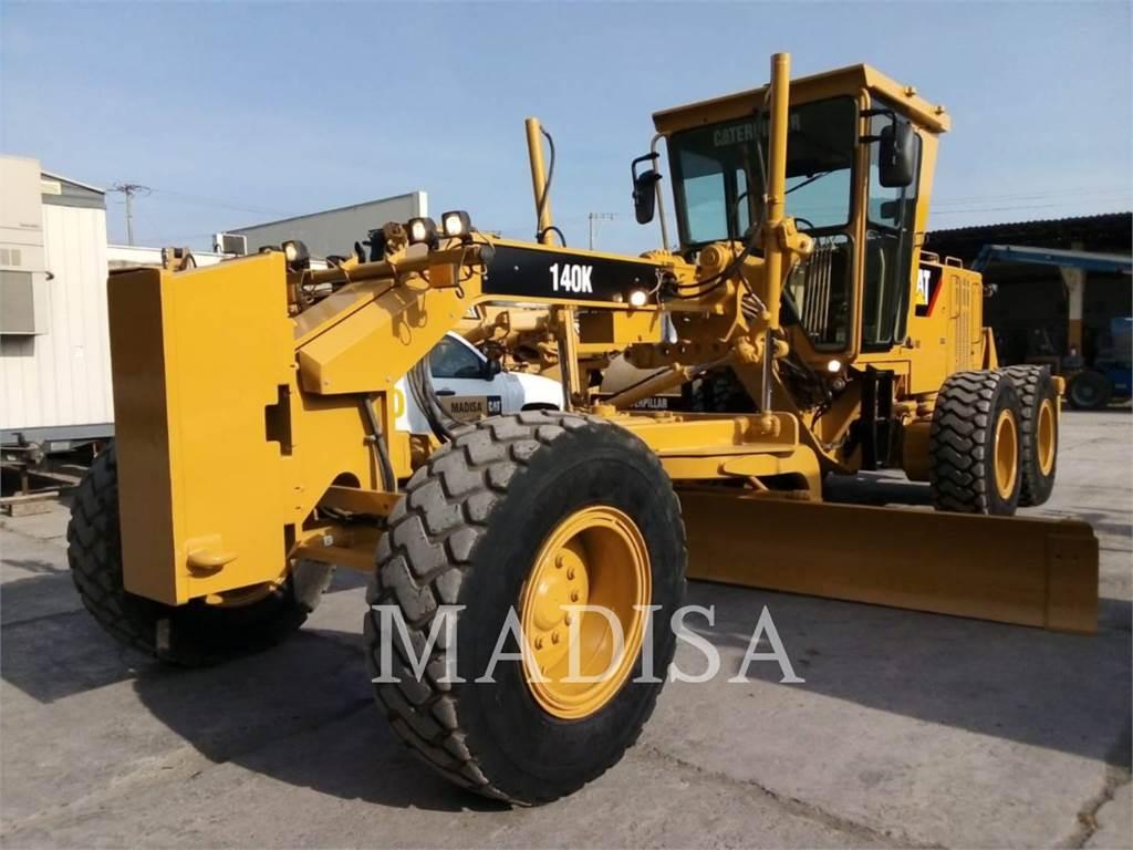 Caterpillar 140K, autogreder minier, Constructii