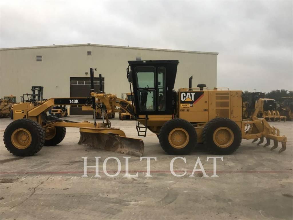 Caterpillar 140K, motoniveladora de mineração, Equipamentos Construção