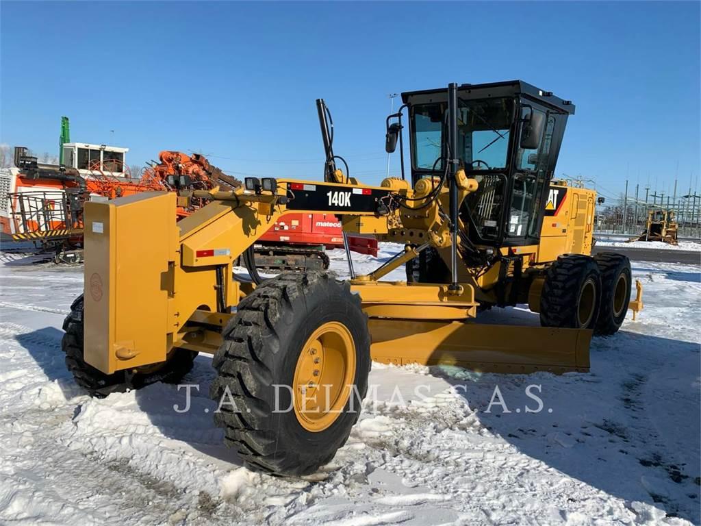 Caterpillar 140K、平地机/推土机、建筑设备