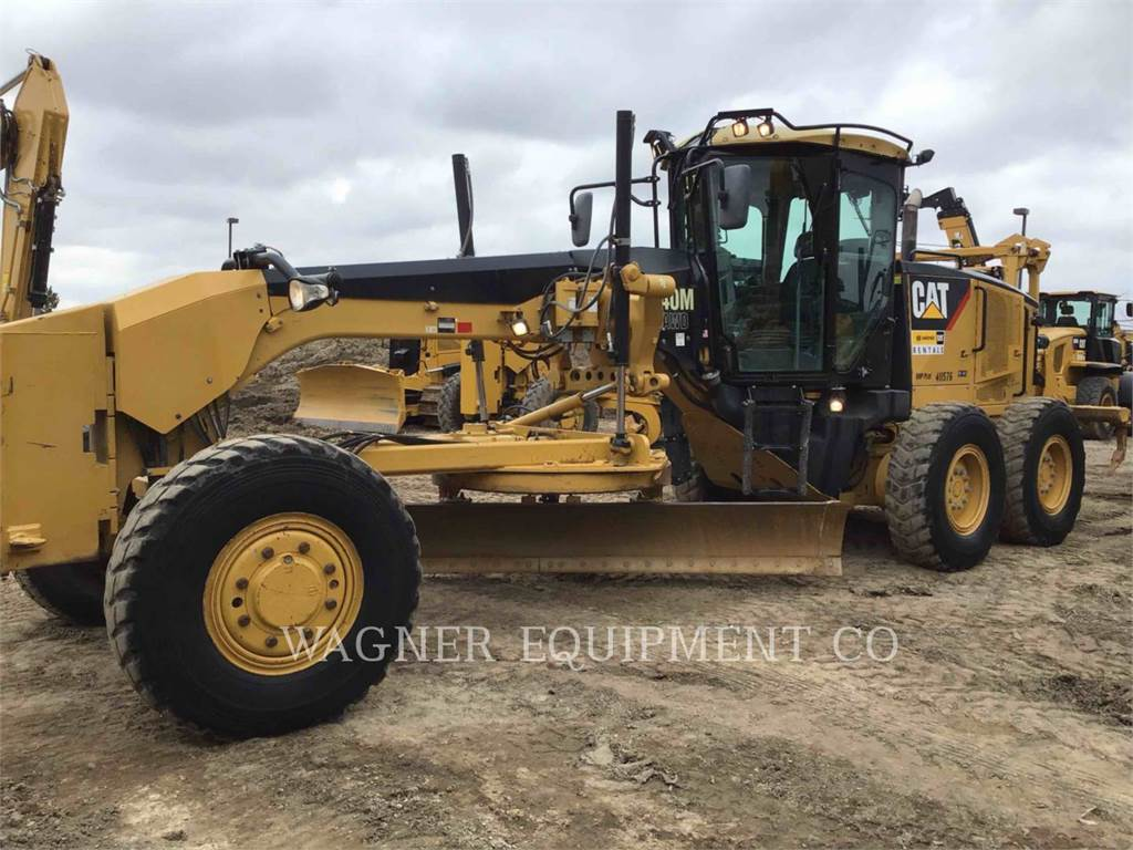 Caterpillar 140M, motoniveladoras para minería, Construcción