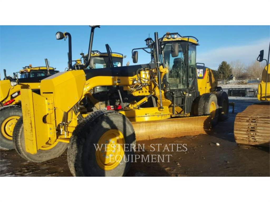 Caterpillar 140M, motor graders, Construction