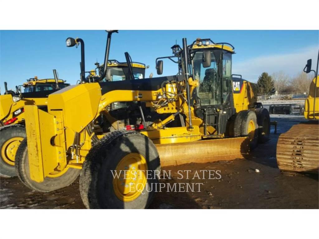 Caterpillar 140M、鉱業用モータ・グレーダ、建設