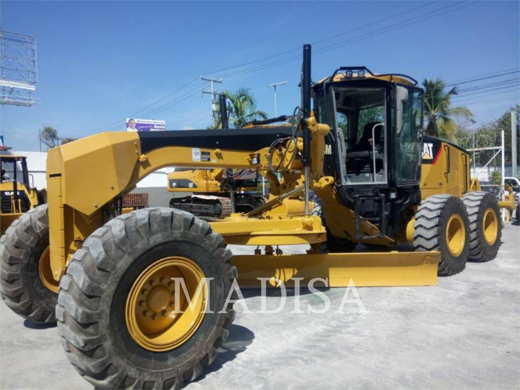 Caterpillar 140M, motor graders, Construction