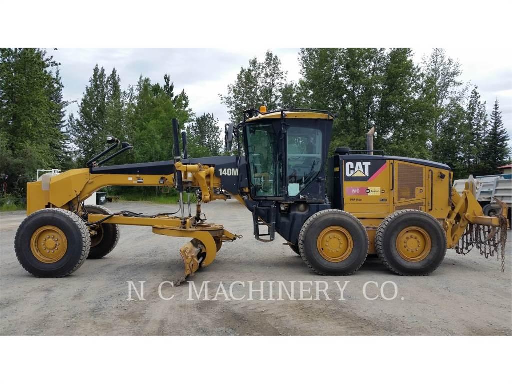 Caterpillar 140M, autogreder minier, Constructii