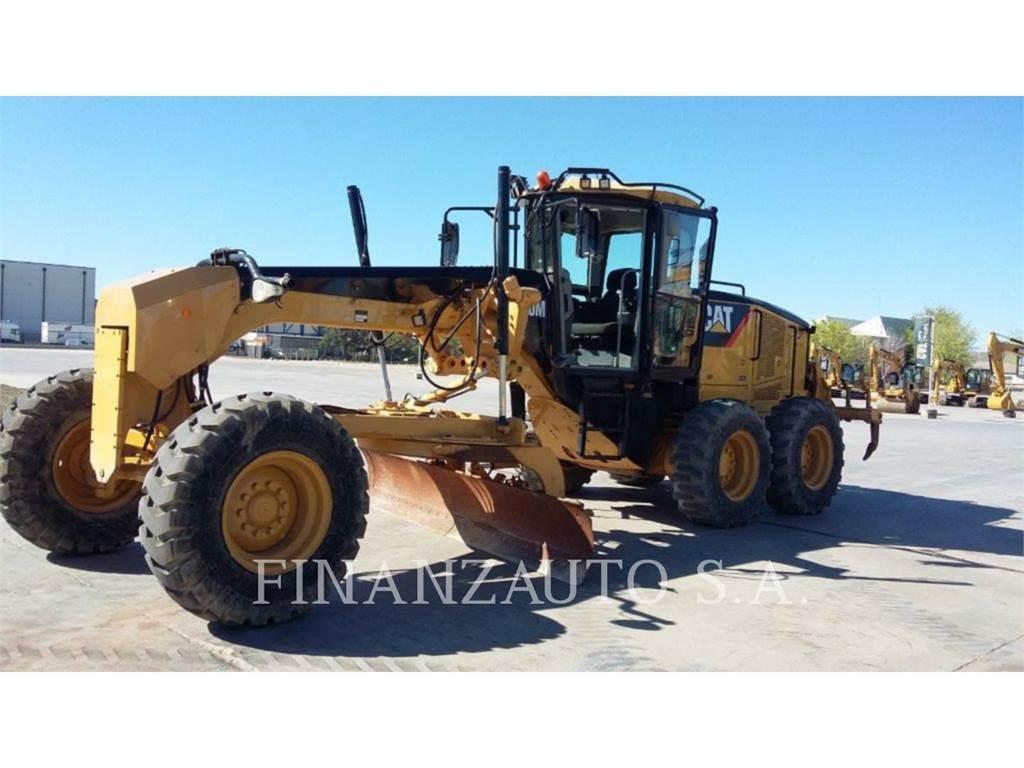 Caterpillar 140M, motorgrader mijnbouw, Bouw