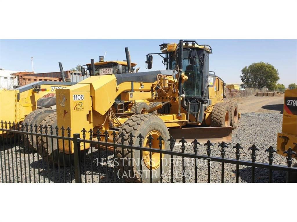 Caterpillar 140M, motoniveladora de mineração, Equipamentos Construção