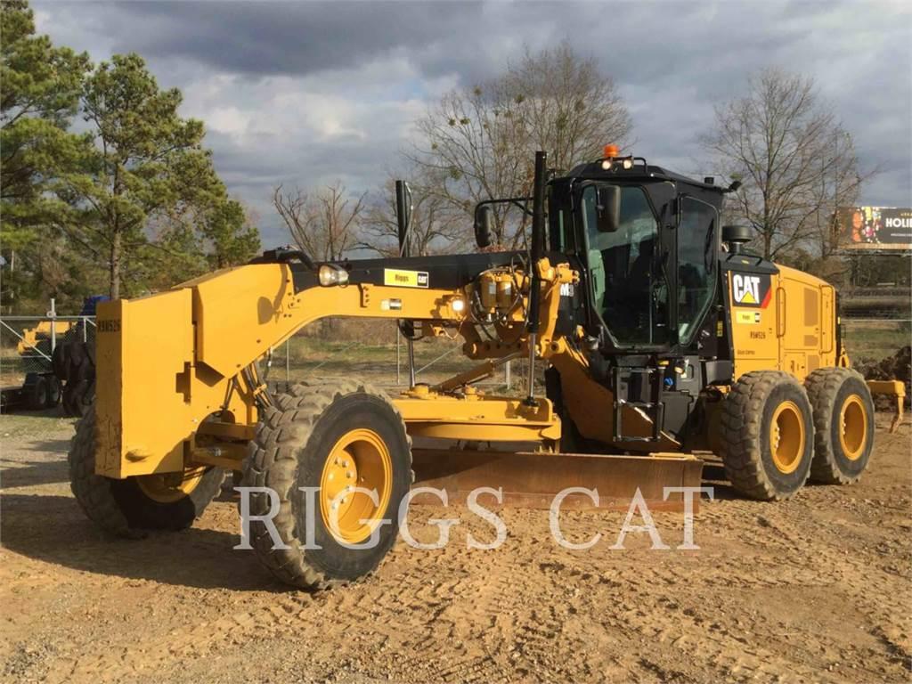 Caterpillar 140M LC17, autogreder minier, Constructii
