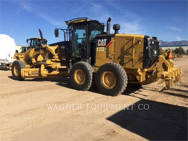 Caterpillar 140M2, motor graders, Construction