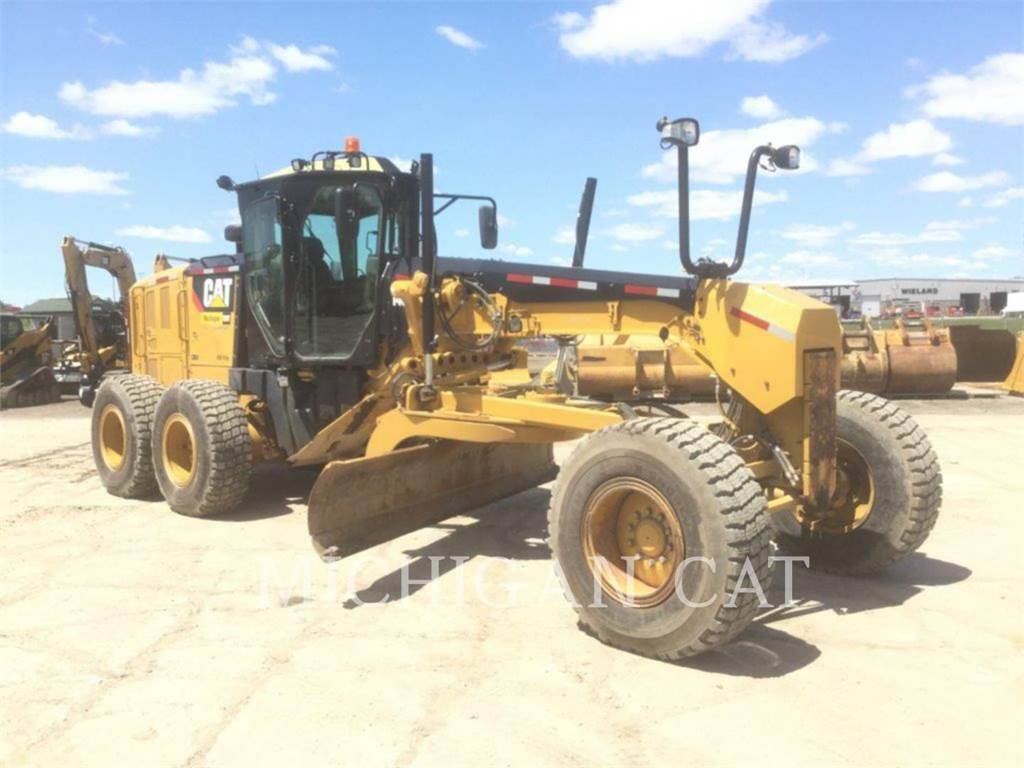 Caterpillar 140M2, карьерный автогрейдер, Строительное