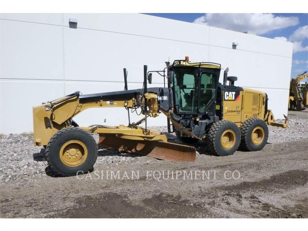 Caterpillar 140M2 BR, autogreder minier, Constructii