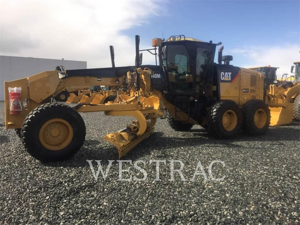 Caterpillar 140M2, motoniveladora de mineração, Equipamentos Construção