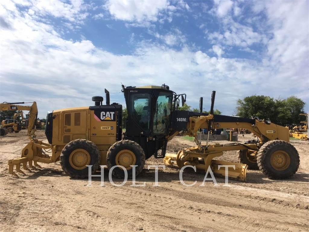 Caterpillar 140M2 GOV, autogreder minier, Constructii