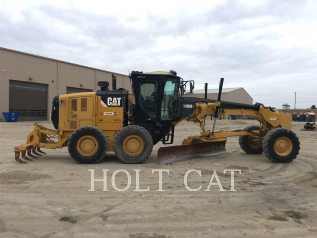 Caterpillar 140M2 GOV、鉱業用モータ・グレーダ、建設