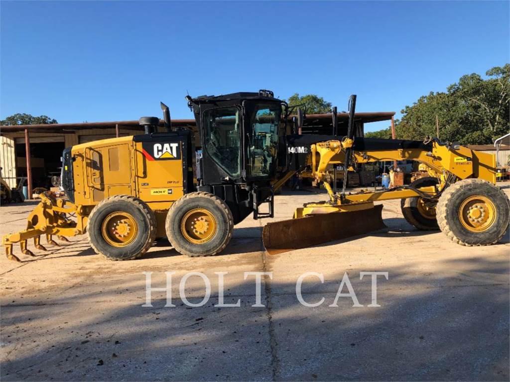 Caterpillar 140M2 GOVR, autogreder minier, Constructii