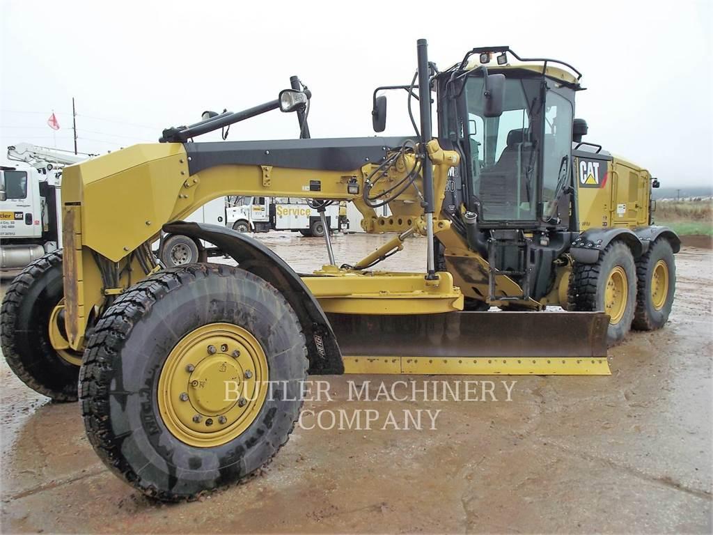 Caterpillar 140M2AWD, kopalniana równiarka samojezdna, Sprzęt budowlany