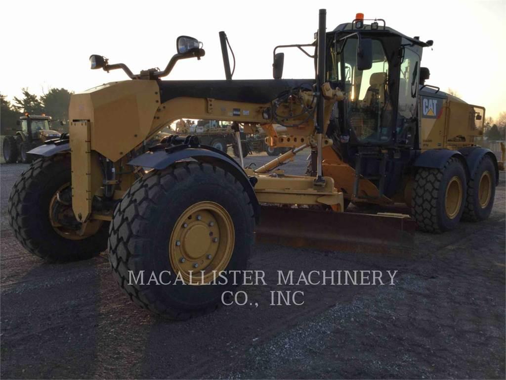 Caterpillar 140M2AWD, motorgrader da miniera, Attrezzature Da Costruzione