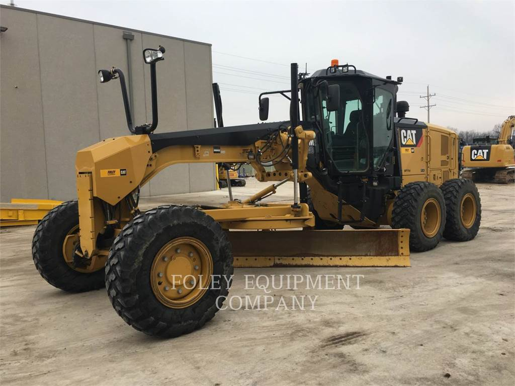 Caterpillar 140M2AWD, motoniveladora de mineração, Equipamentos Construção