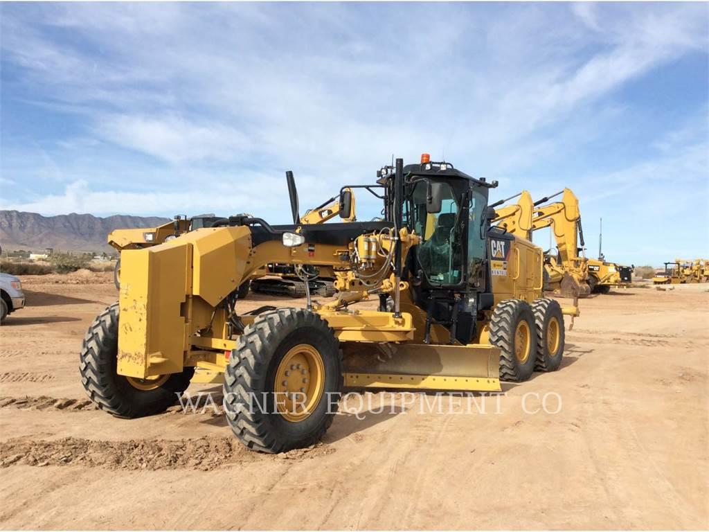 Caterpillar 140M3, motoniveladora de mineração, Equipamentos Construção