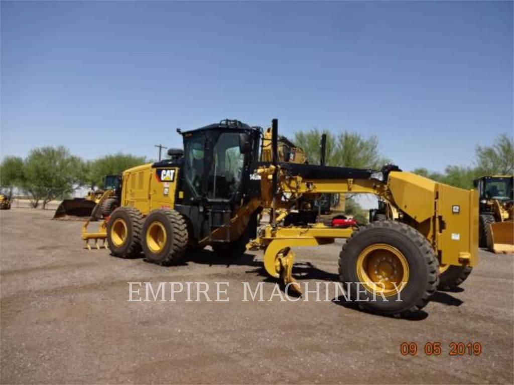 Caterpillar 140M3, kopalniana równiarka samojezdna, Sprzęt budowlany