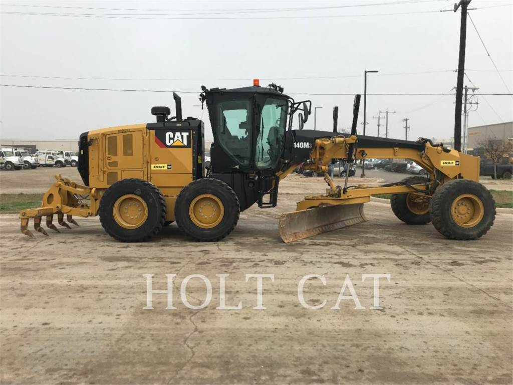 Caterpillar 140M3, motorgrader da miniera, Attrezzature Da Costruzione