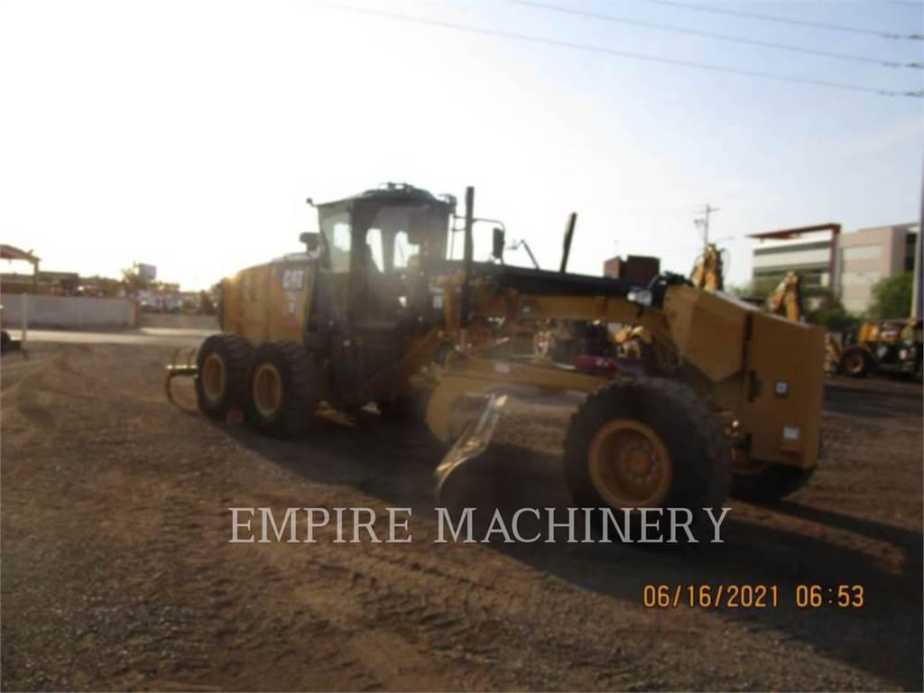Caterpillar 140M3, карьерный автогрейдер, Строительное