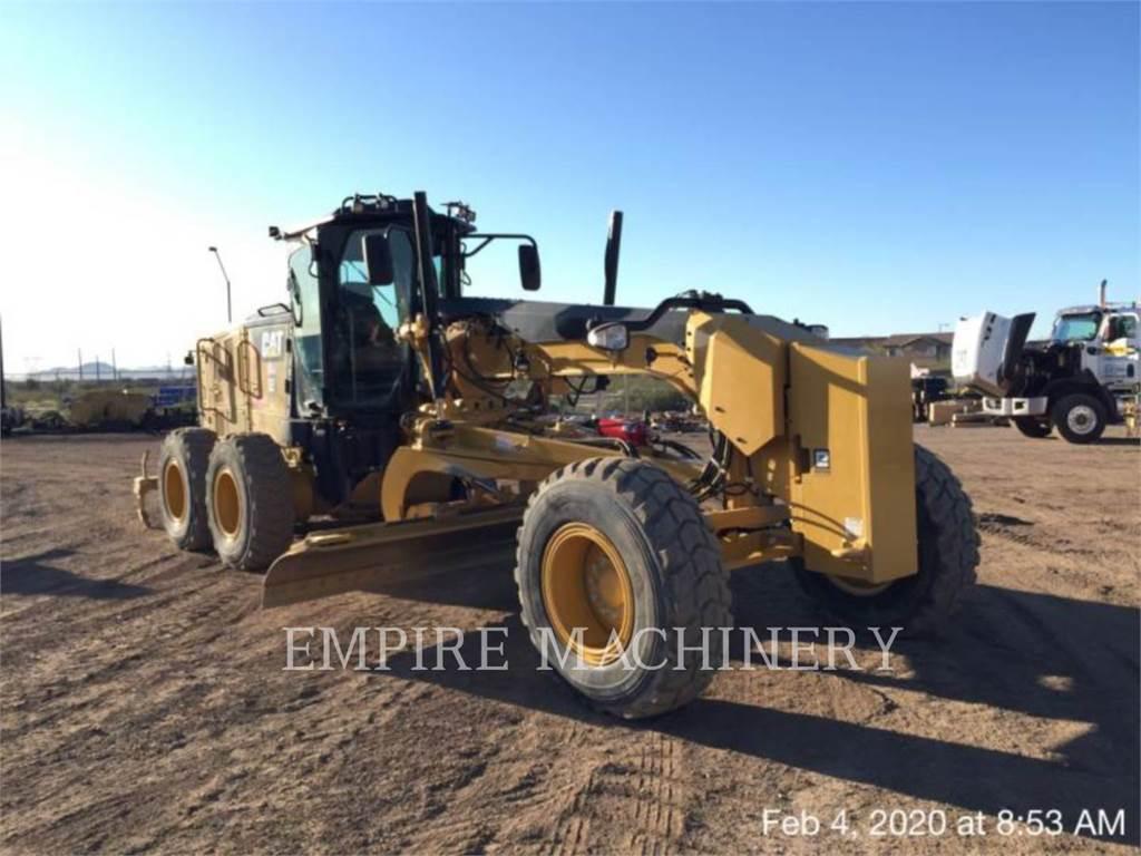 Caterpillar 140M3, autogreder minier, Constructii