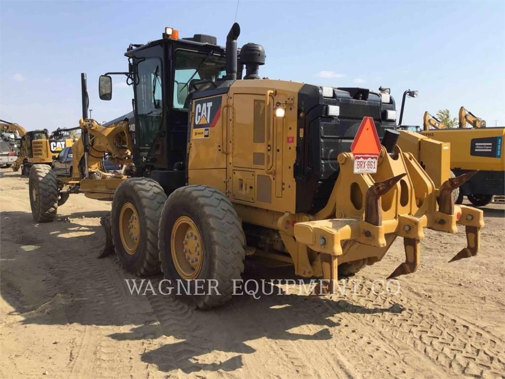 Caterpillar 140M3 AWD, motoniveladora de mineração, Equipamentos Construção