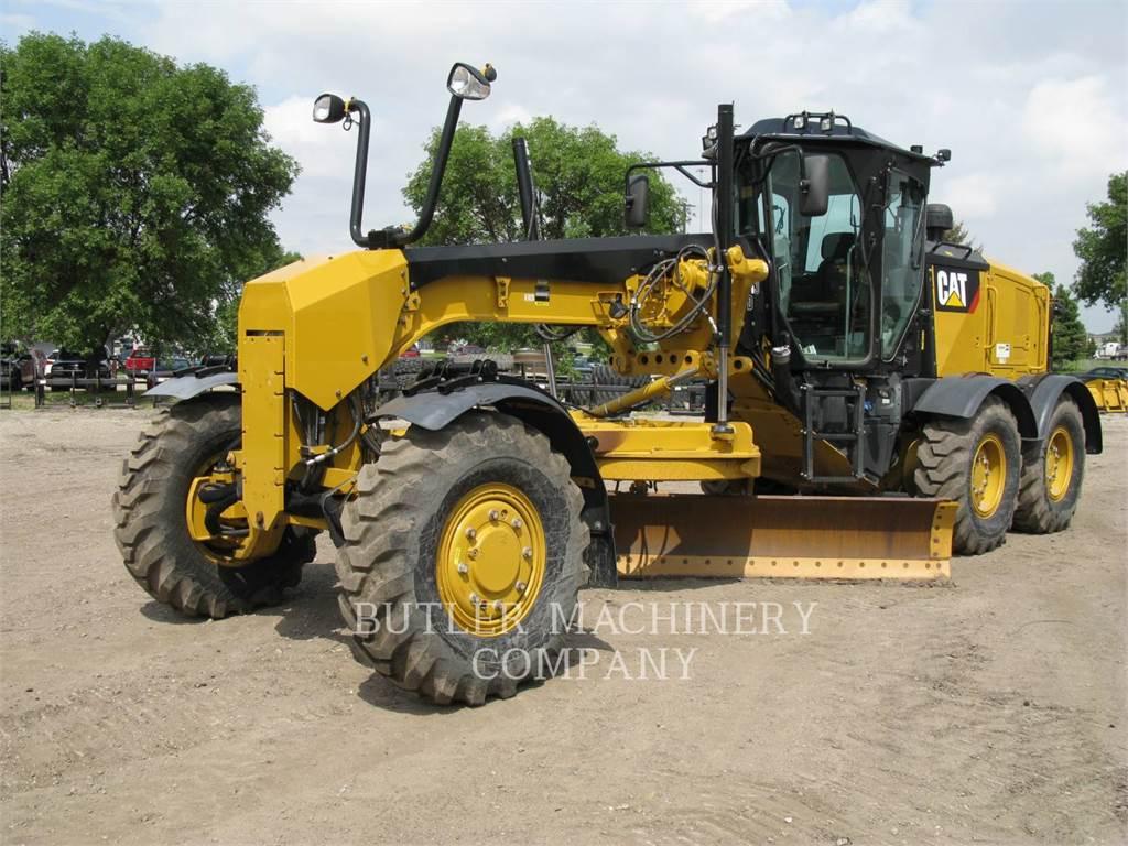 Caterpillar 140M3AWD, autogreder minier, Constructii
