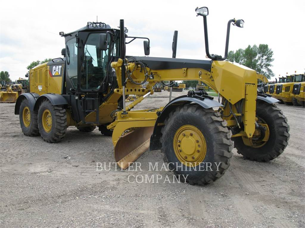 Caterpillar 140M3AWD, motor graders, Construction