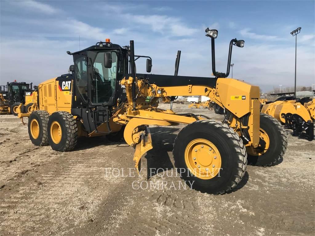 Caterpillar 140M3AWX, motorgrader mijnbouw, Bouw