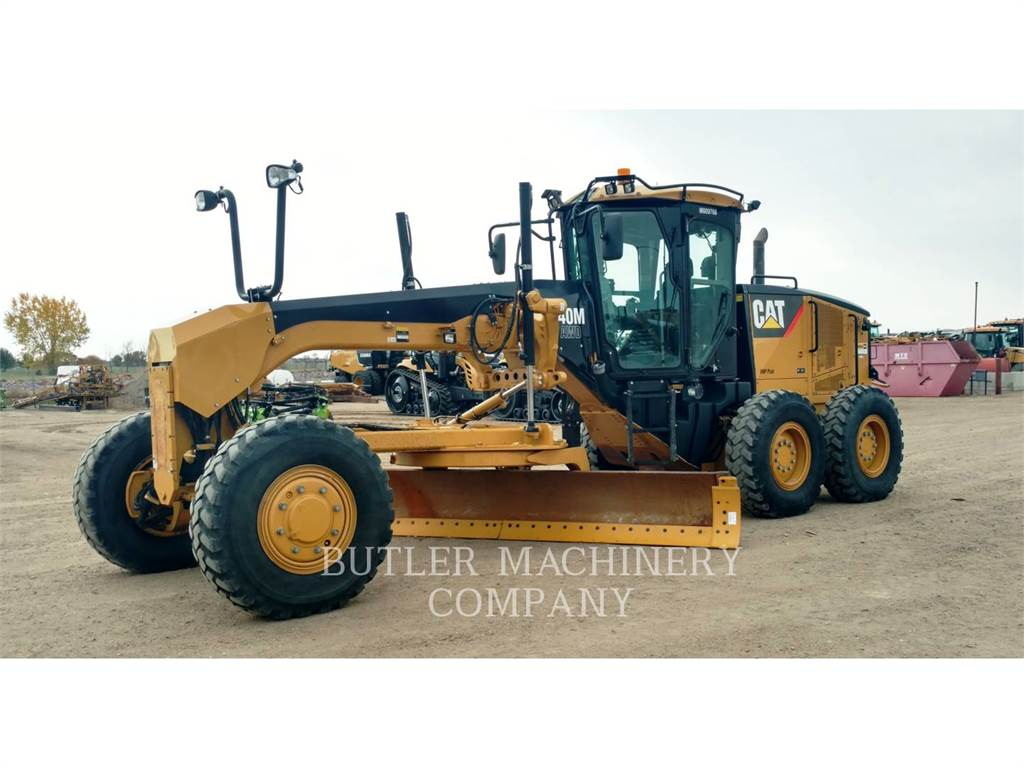 Caterpillar 140MAWD、鉱業用モータ・グレーダ、建設