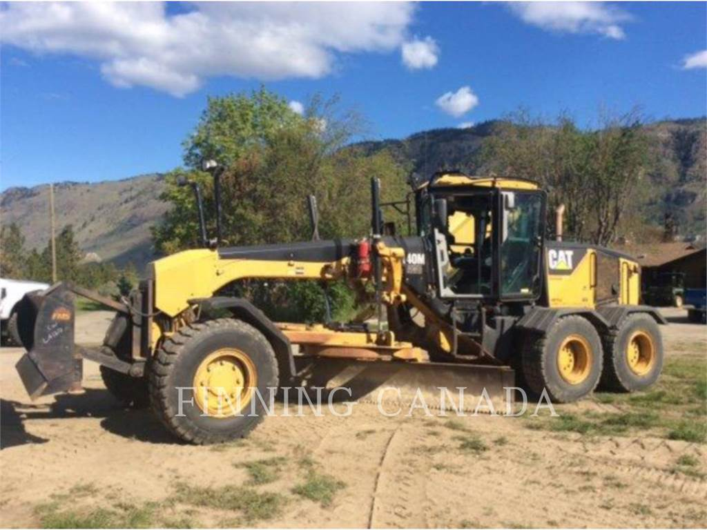Caterpillar 140MAWD, autogreder minier, Constructii