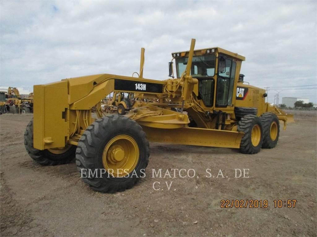 Caterpillar 143 H, motoniveladora de mineração, Equipamentos Construção