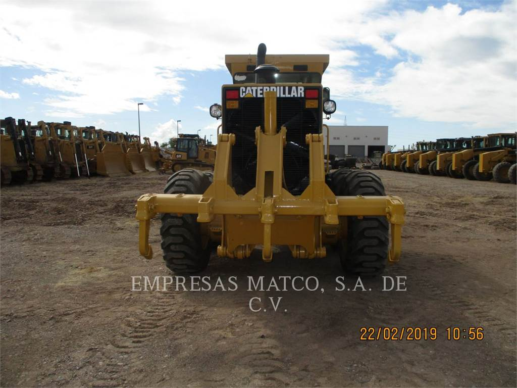 Caterpillar 143 H, motor graders, Construction