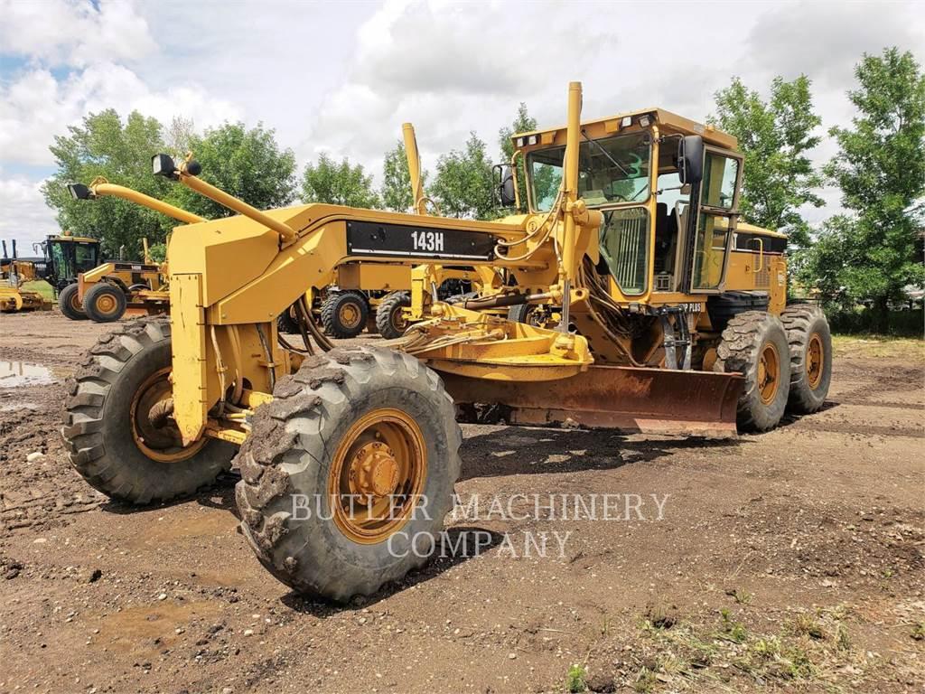 Caterpillar 143H, niveleuses pour mines, Équipement De Construction