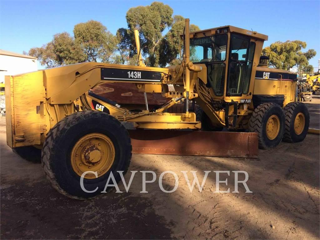 Caterpillar 143H, motorgrader mijnbouw, Bouw